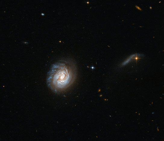 Hubble Views MCG-03-04-014