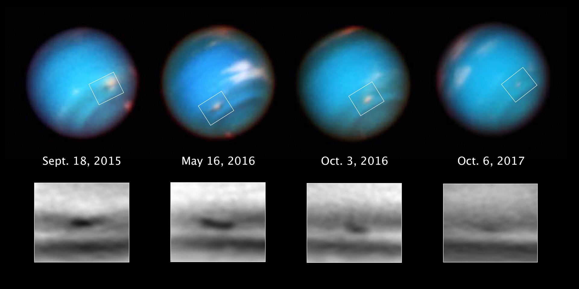 neptune from hubble - photo #33