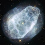 Hubble Views Nitrogen-Rich Nebula