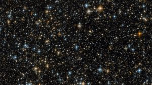 Hubble Views Open Star Cluster NGC 299