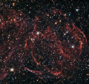Hubble Views Remnants of a Dead Star