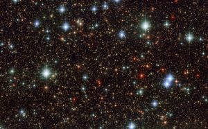 Hubble Views Scattered Stars