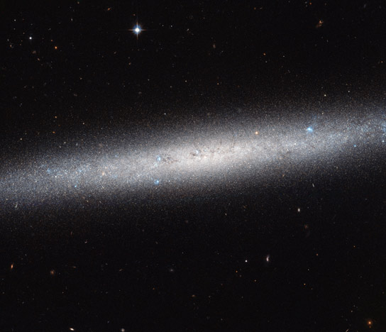 Hubble Views Spiral Galaxy NGC 5023