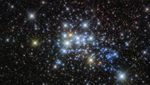 Hubble Views Star Cluster Westerlund 1