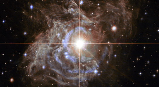 Hubble Views Variable Star Cepheid