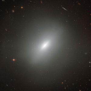 Hubble Views Young Elliptical Galaxy NGC 3610