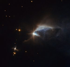 Hubble Views Young Forming Star Known as HBC 1