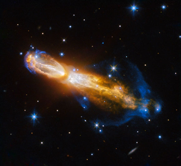 Hubble Views the Calabash Nebula
