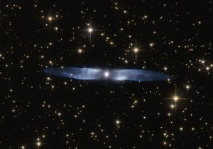 Hubble Views the Icy Blue Wings of Hen 2-437