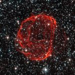 Hubble Views the Remains of Supernova SNR 0519