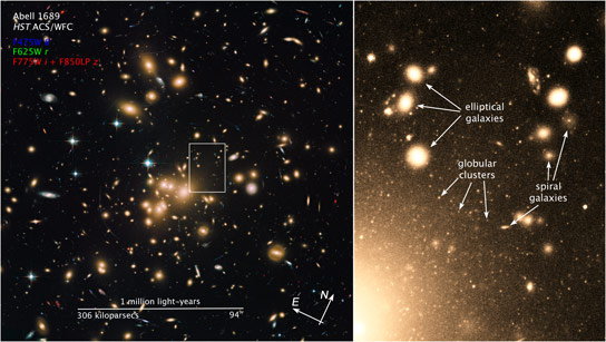 Hubble Views the Rich Globular Cluster System of Abell 1689
