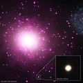 Hubble and Chandra Find Evidence for Densest Nearby Galaxy M60 UCD1