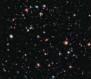 Hubble--image-of-a-small-area-of-space-in-the-constellation-of-Fornax