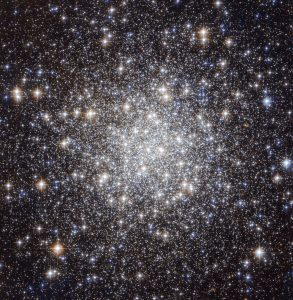 Hubble image of the globular cluster Messier 56