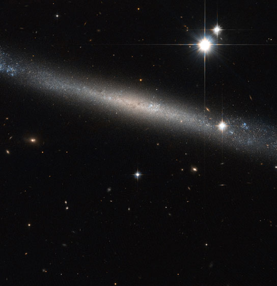 Hubble image of the spiral galaxy IC 2233