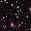 Hubble reveals a previously unseen population of seven faraway galaxies