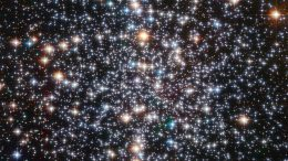 Hubble shows the center of globular cluster M4