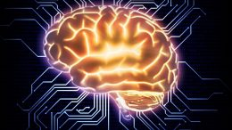 Human Thinking Artificial Intelligence Concept