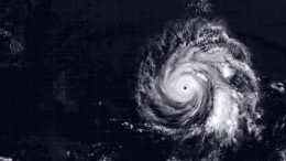 Hurricane Douglas July 24, 2020