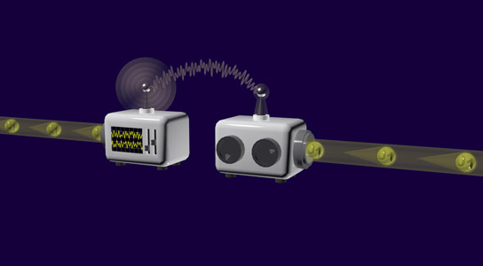 Hybrid Technology Makes Deterministic Quantum Teleportation Possible