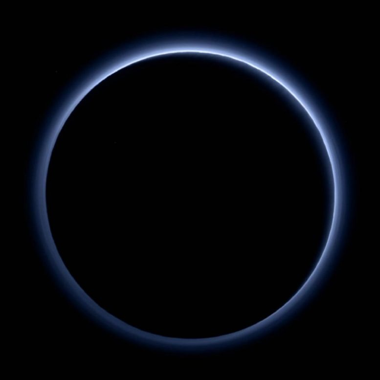 Hydrocarbon Haze Keeps Dwarf Planet Pluto Colder Than Expected