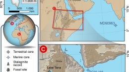 Hydroclimate Changes in Eastern Africa Early Human Dispersal