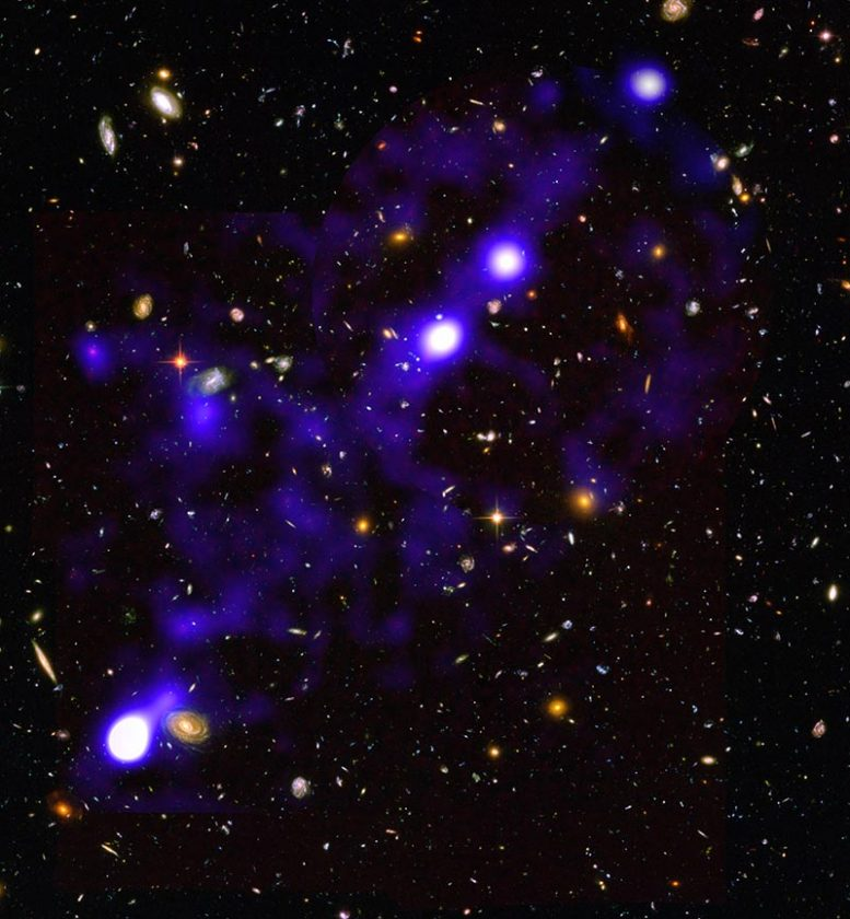 Hydrogen Filaments Discovered by MUSE
