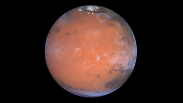 Hydrogen Possibly Water Ice in the Medusa Fossae Area of Mars