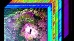 Hyperspectral Image Cube Mount Vesuvius Italy