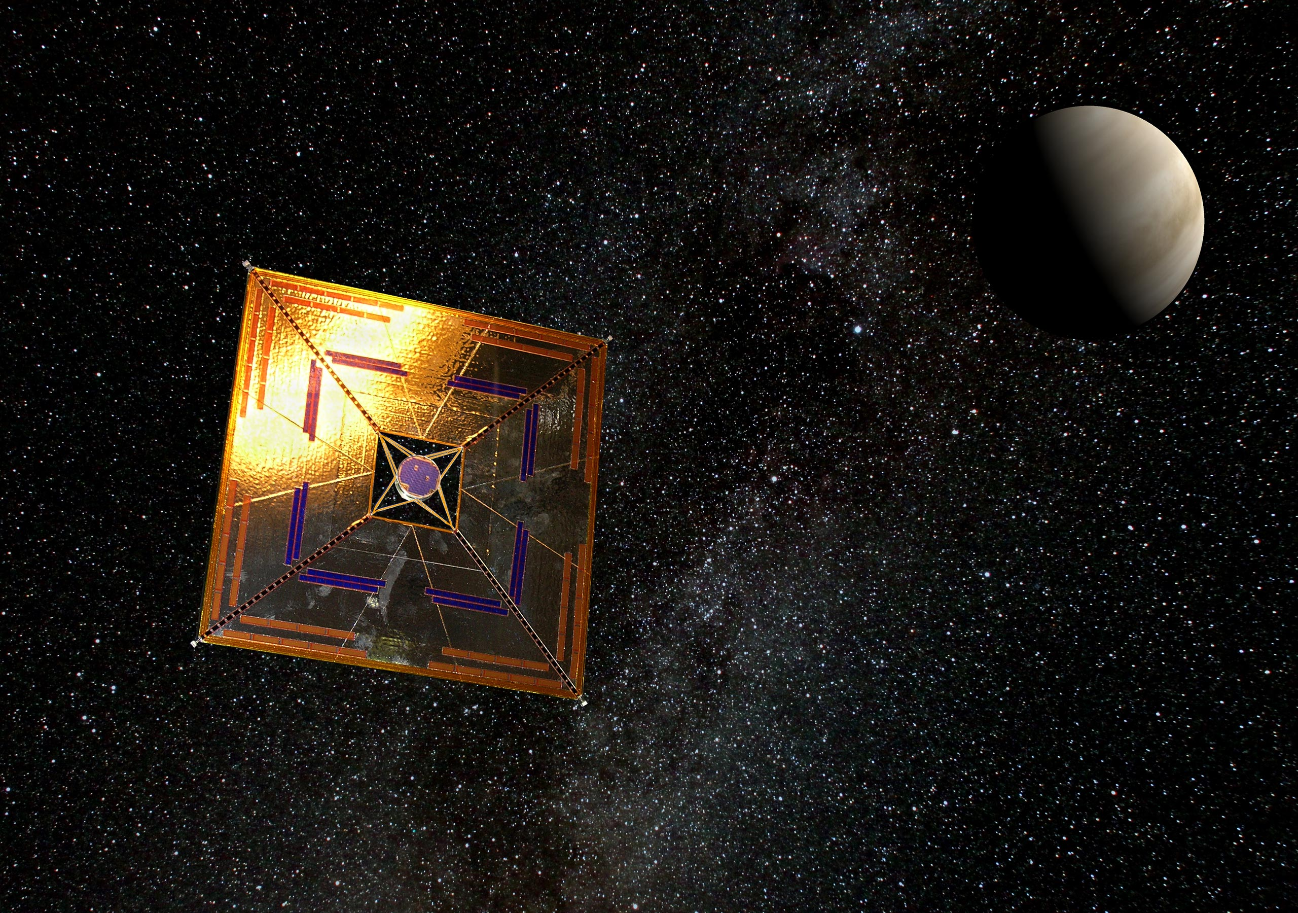 One Atom Thick Graphene Light Sail Could Speed Journey to Other Star Systems - SciTechDaily