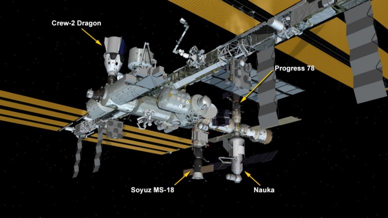 ISS Configuration July 29 2021