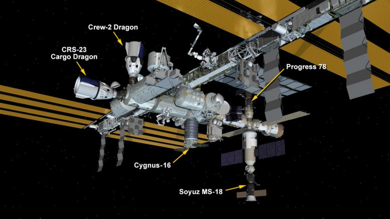 ISS Configuration September 2021