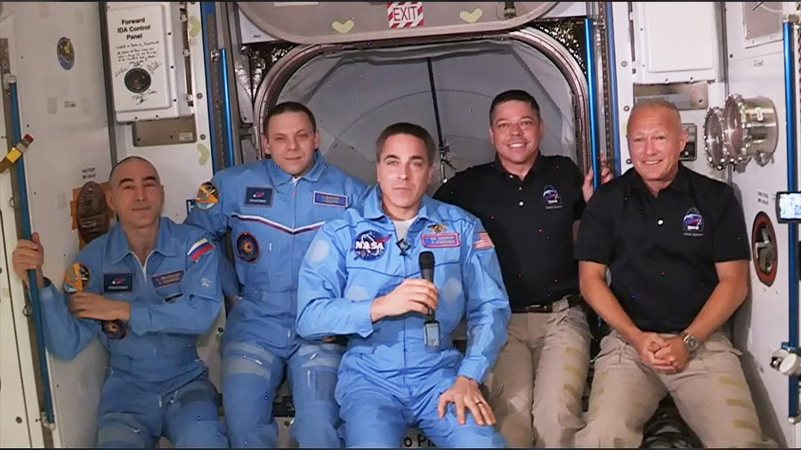 US Astronauts Blast Into Space Aboard SpaceX Rocket