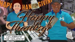 ISS Happy Thanksgiving 2020