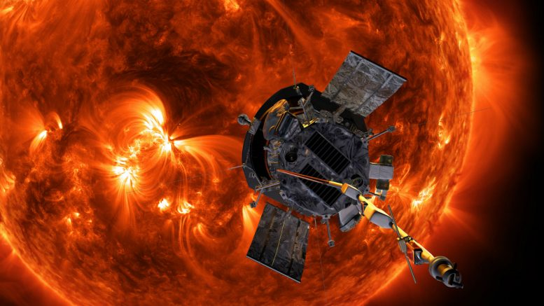 Illustration of NASA's Parker Solar Probe
