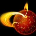 Illustration of a Magnetar