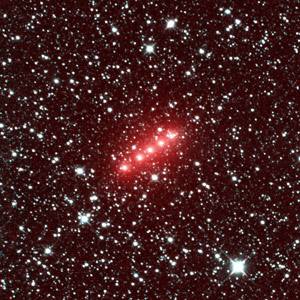 Image of Comet Lovejoy