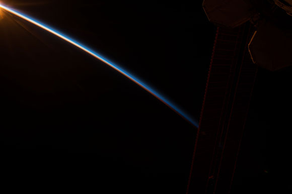 Image of Earth from NASA Astronaut Scott Kelly