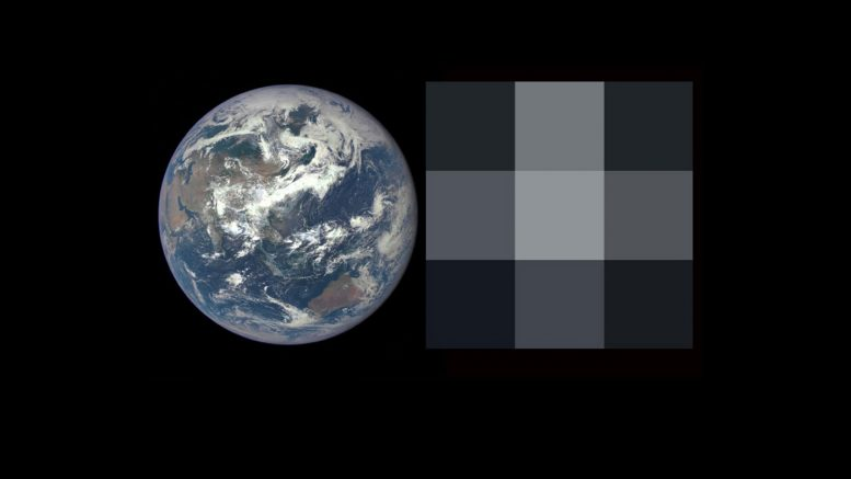 Image of Earth from the DSCOVR-EPIC Camera