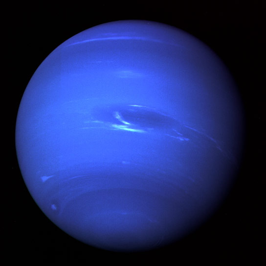 Image of Neptune from Voyager 2