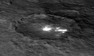 Image of Occator Crater on Ceres