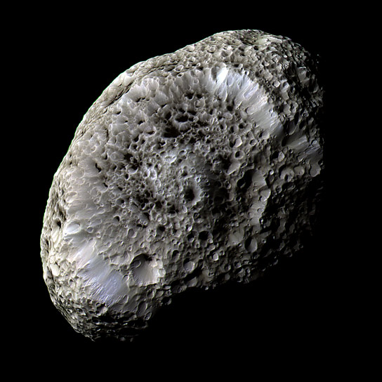 Image of Saturn's Moon Hyperion
