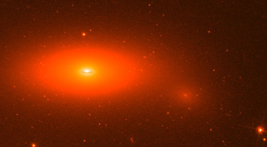 Image of lenticular galaxy NGC 1277