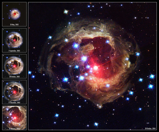 Image of the Day Star V838 Monocerotis