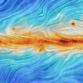 Image of the Magnetic Field Along the Galactic Plane