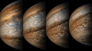Images from Juno's Eighth Close Approach to Jupiter