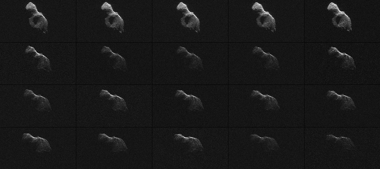 Astronomers View Near-Earth Asteroid 2014 HQ124 as it ...
