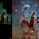 Improved Hubble Image of the Pillars of Creation