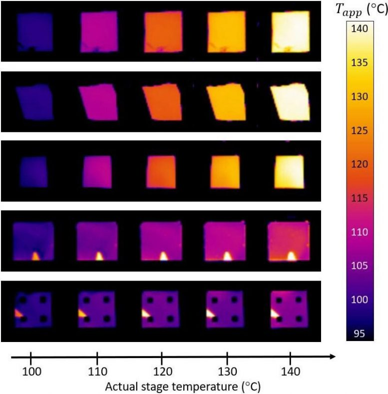 Infrared Images Special Coatings