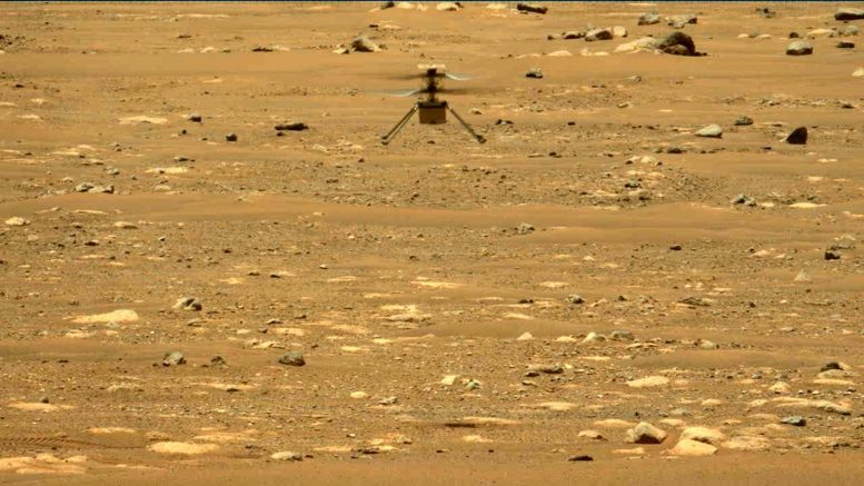 Ingenuity Mars Helicopter Second Flight